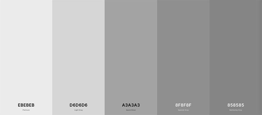 Contoh background warna abu-abu