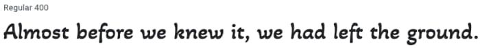 Font Akaya Telivigala